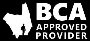 British Caving Association approved provider logo