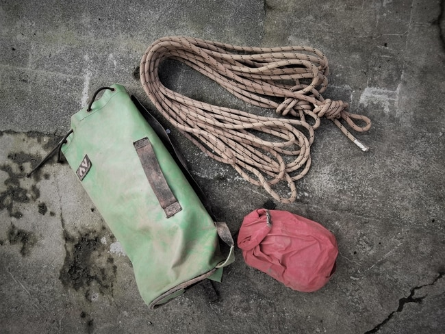 Caving Equipment carried by Cornwall Underground Adventures