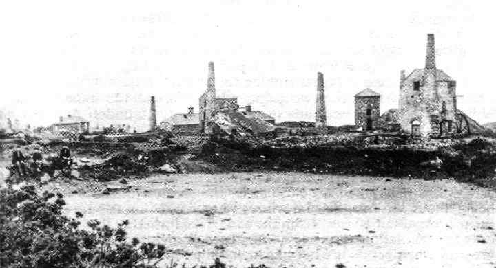 Providence Mines, Carbis Bay, Cornwall, soon as after closure in 1880