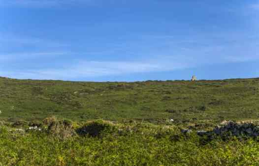 The tin gardens on the north coast of Penwith host hundreds of holes and shafts.