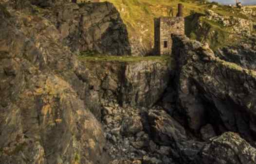 Cornwall's world-famous tin mining heritage typified by the Crowns Mine at Botallack, St. Just.