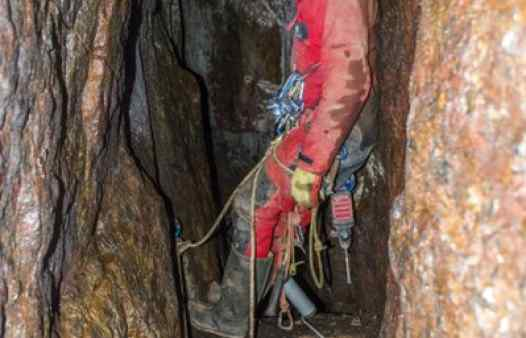 Cornwall mine guides working underground to create adventure. Adventure mine trips are the best day out in Cornwall.