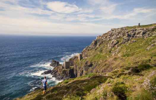 The Crowns Mine at Botallack. Explore the underground world of cornwall with incredible, fun-filled days out in Cornwall, near Newquay, Penzance, St. Just, St. Ives and Porthleven.