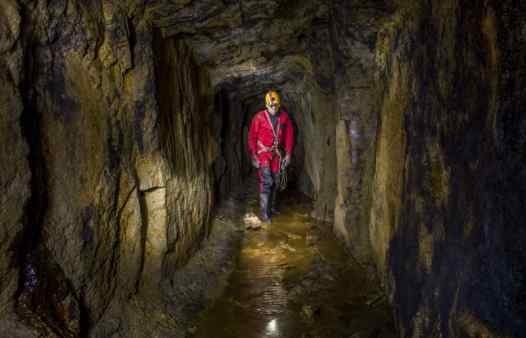 In a Cornish tine mine. Explore the workings and artefacts on a unique underground adventure. Cornwall's answer to Go Below!